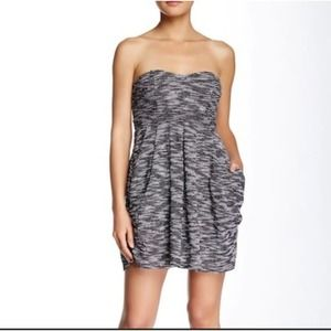 Free People Textured Knit Strapless Tube Dress 6